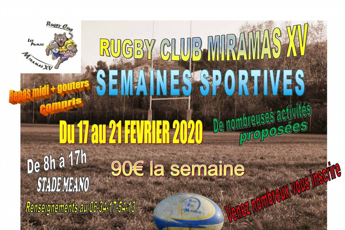 Rugby semaine sportive