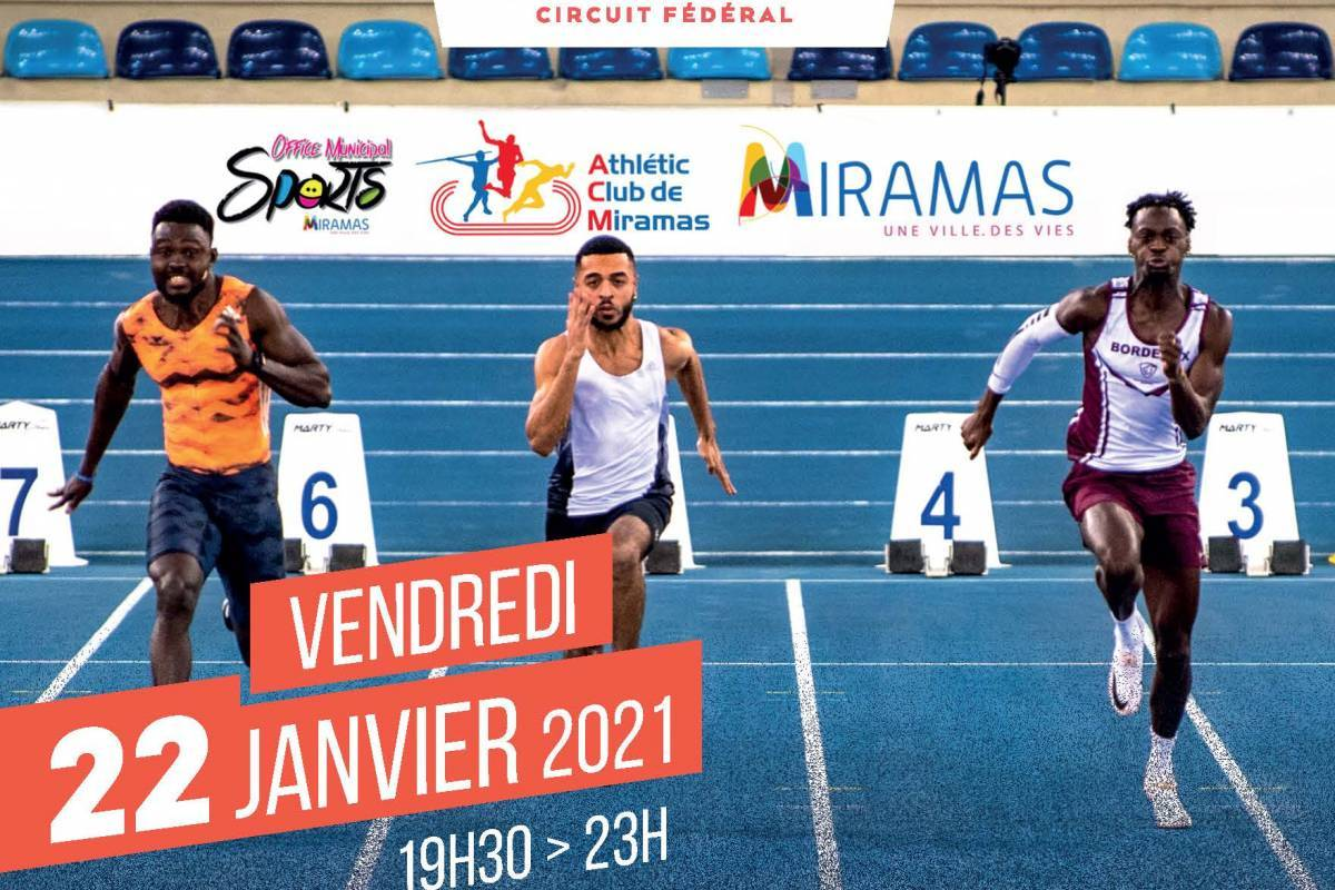 affiche meeting national d'athlétisme