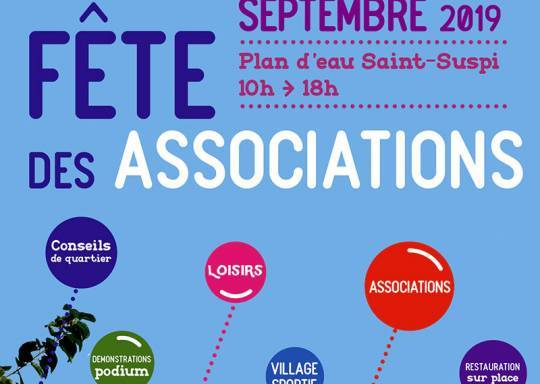 affiche fête des associations