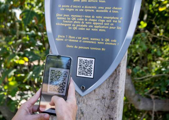 photo qr code jeu de piste