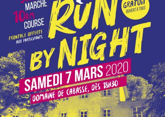 affiche run by night